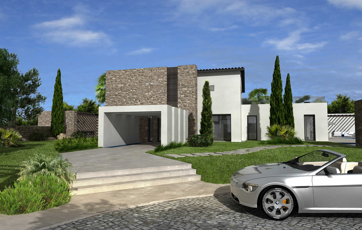 New mega villa in Saronida