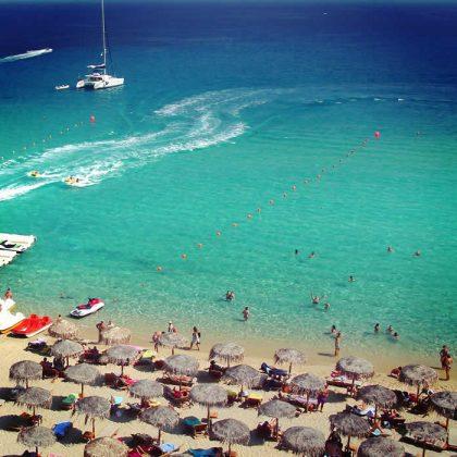 Kalo Livadi beach, Mykonos