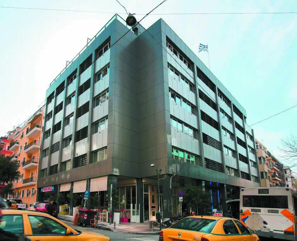 Commercial building, 22 Ippokratous Str., Athens, DEVERIKOS ETTE SA