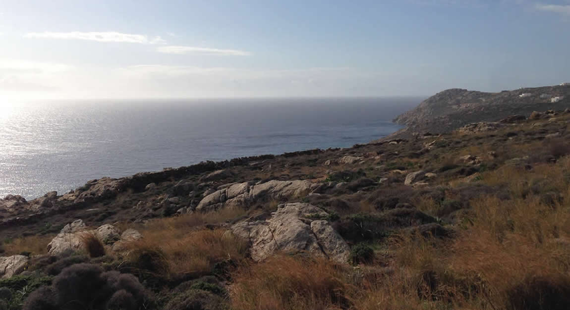 Purchase of an 8 acres plot in Mykonos