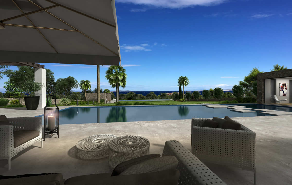 New mega villa in Saronida
